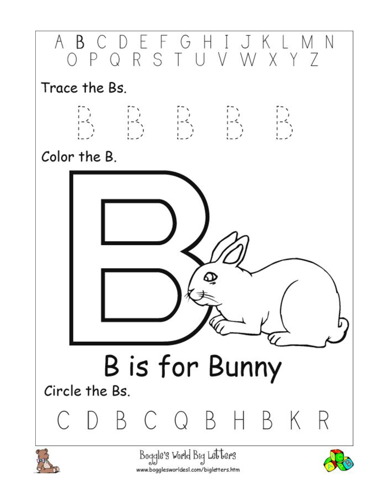 letter b worksheets HD Wallpapers Download Free letter b ...