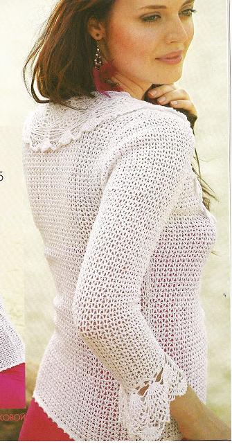 Crochet Summer Jacket……..