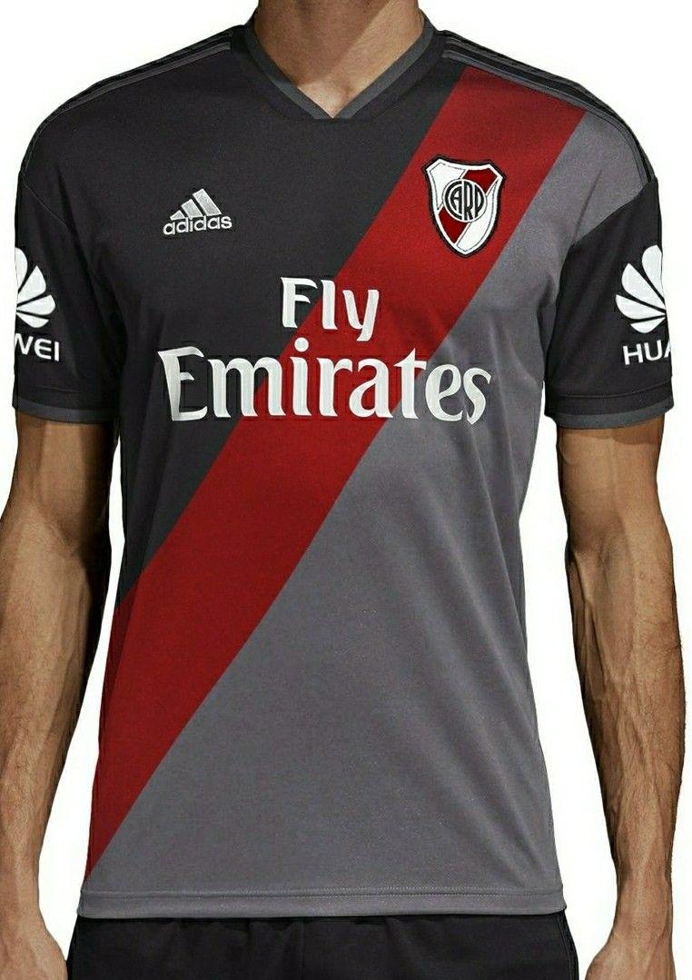 02d55ce1bfae0 Riverplatenses 2018-19 segundo equipamiento Camisetas De Equipo