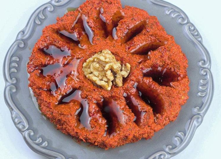 طريقة تحضير المحمرة على الطريقة التركية ملكة المقبلات الرمضاني ة عربي بوست Desserts Cake Food