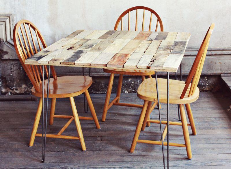 Tavoli Alti Fai Da Te : Des tables en palettes de bois! 20 idées pour vous inspirer