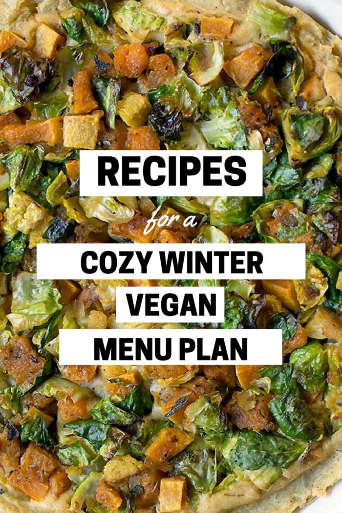 Cozy Winter Vegan Menu Plan Vegan Slow Cooker Recipes