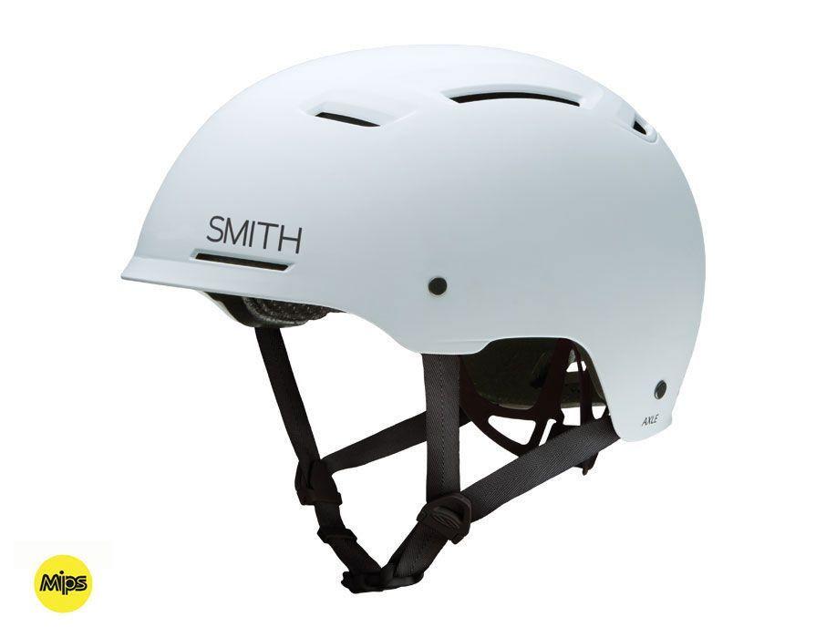 Smith Axle Matte White Mips Bike Helmet Cycling Helmet