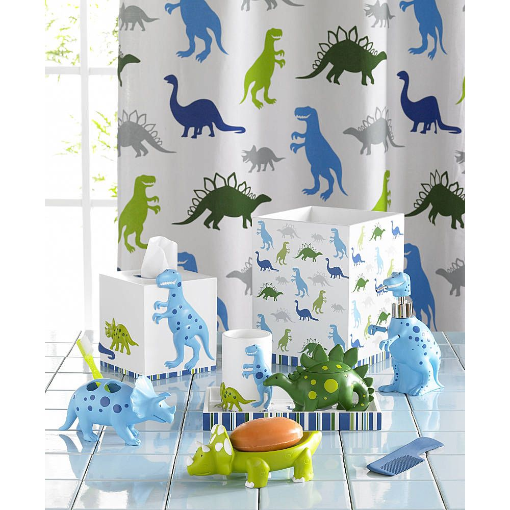 T Rex And His Friends Come To Your Little One S Bathroom With Dino
