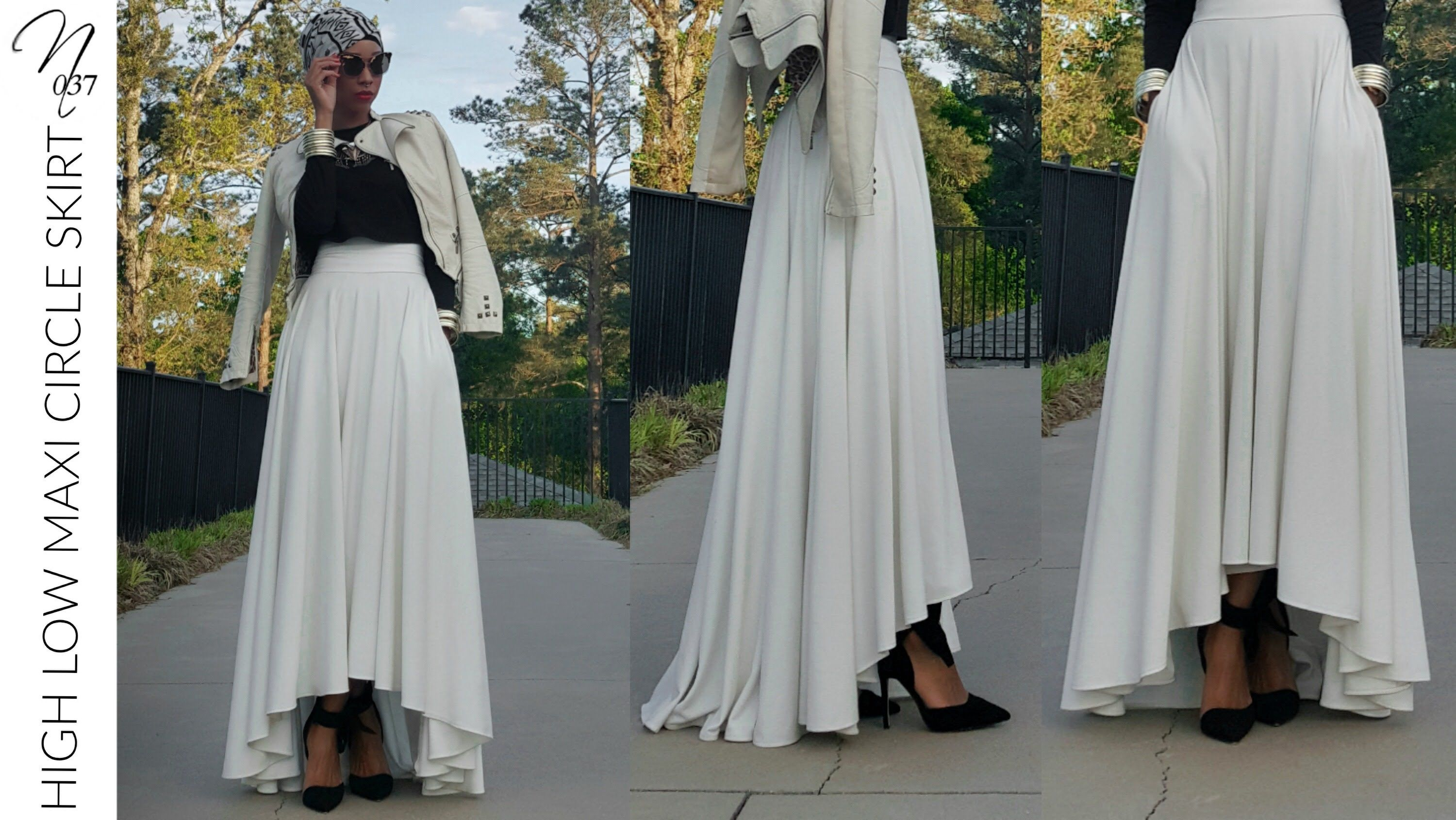 New sewing tutorial for this high low maxi circle skirt this is this is not my first circle skirt tutorial so i did a quick explanation on how to draft your pattern jeuxipadfo Gallery