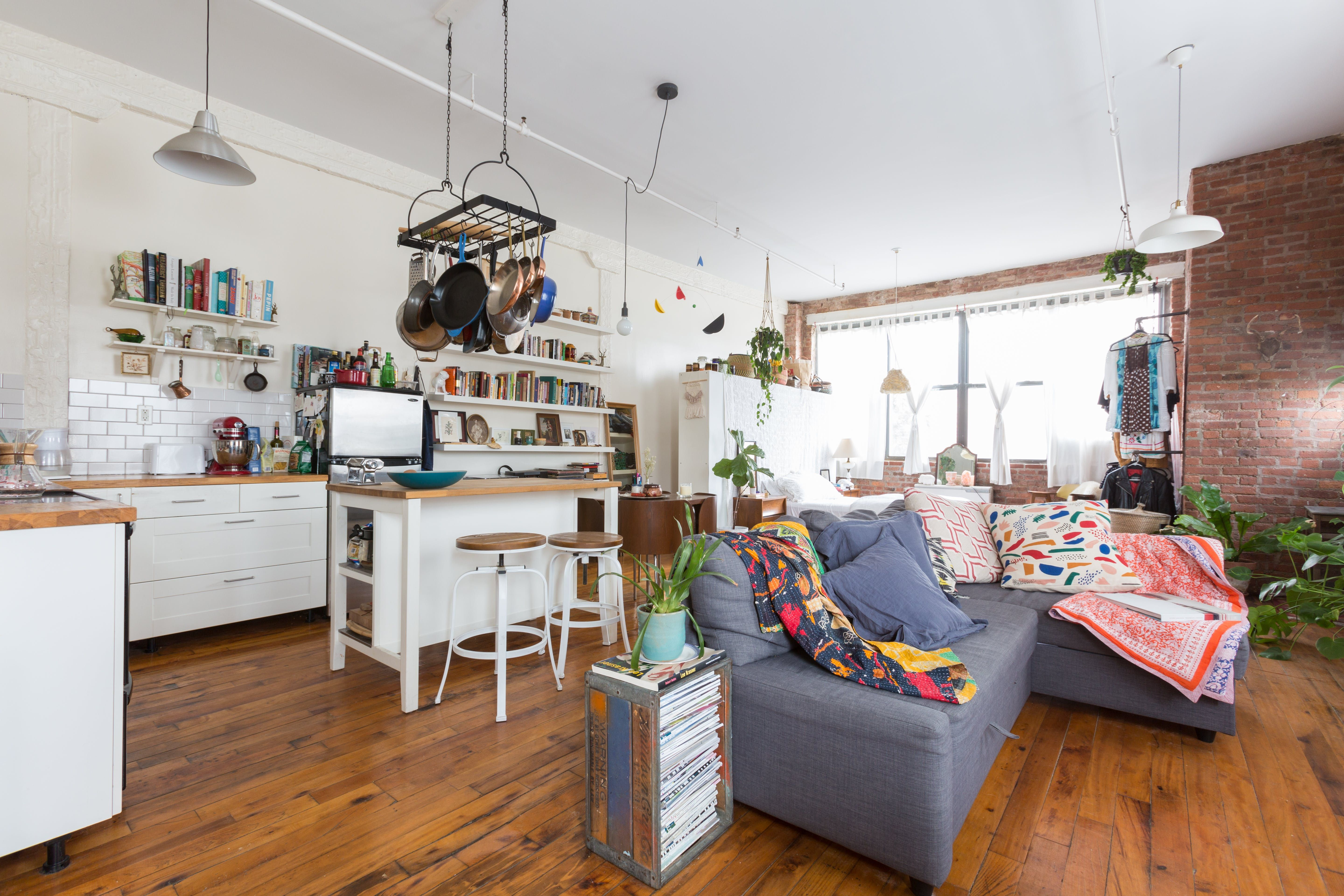 Tour a Charming Eclectic Brooklyn Studio Tour