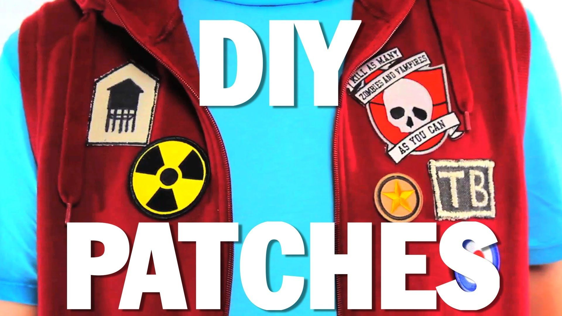 How To Make Patches Diy Threadbanger Here Are Two Different Ways To Make Patches Enjoy Making Your Own Patch How To Make Patches Diy Patches Badges Diy