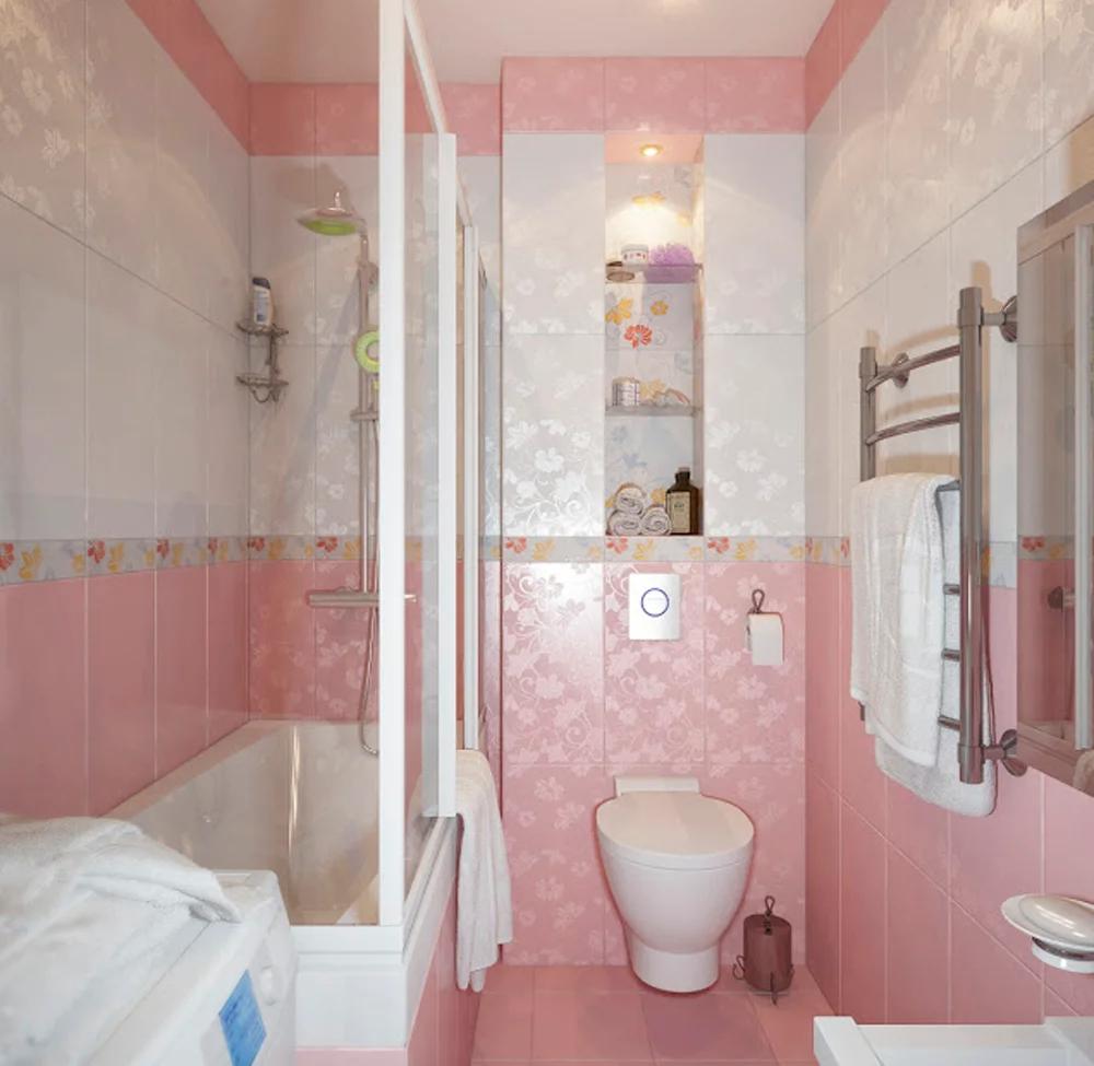 Plitka Napolnaya Provans Google Poisk Pink Bathrooms Designs Bathroom Design Pink Bathroom