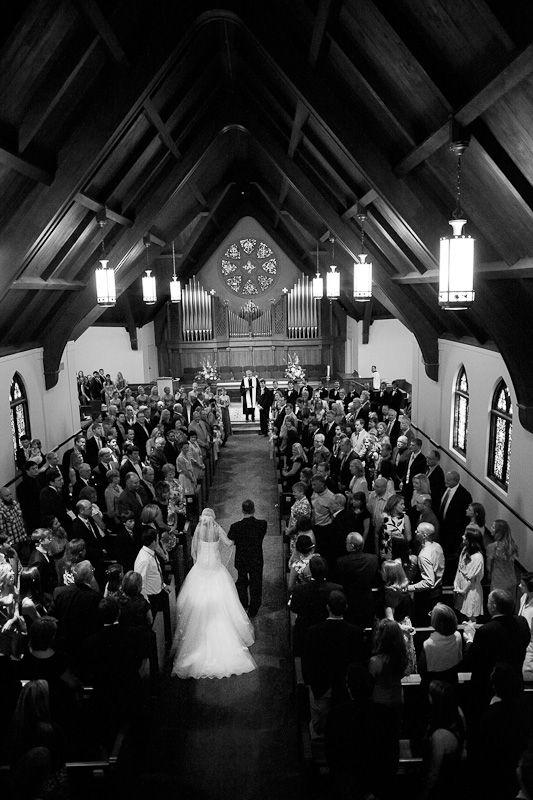 Ceremony At Westminster Presbyterian Church In Austin Tx