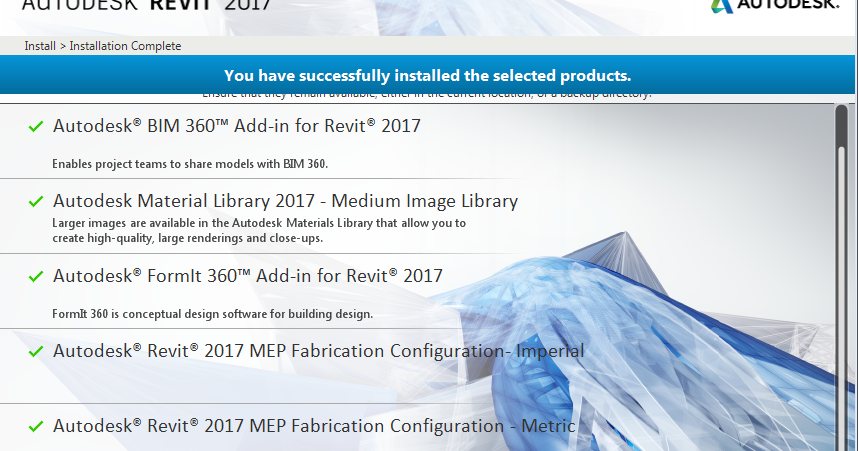 Installing Revit 2017  With Images