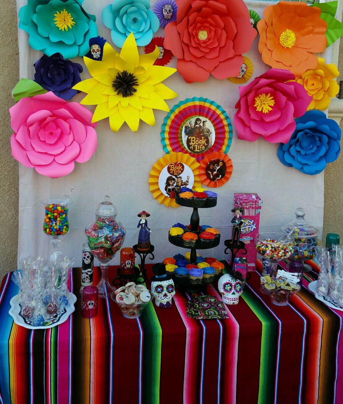 Book of life birthday Mexican party theme, Dia de los