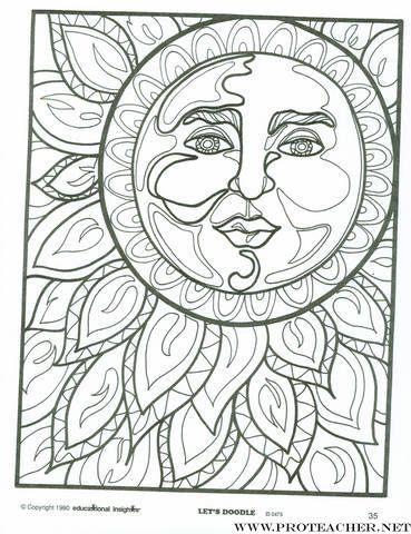 Sun Doodle Adult ColoringColoring BooksColoring