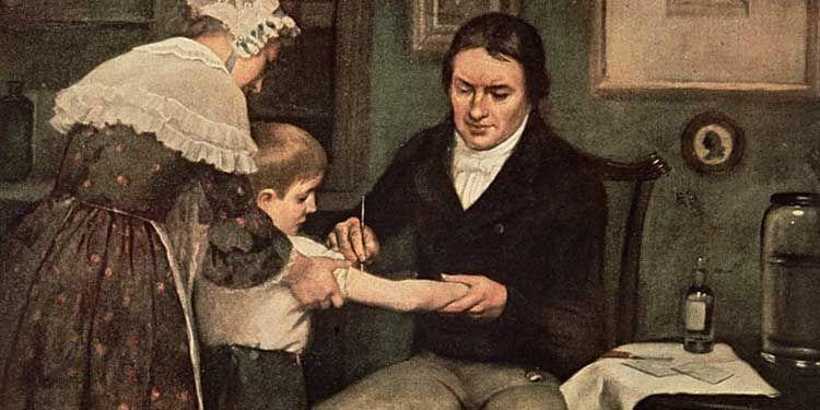Il 14 maggio 1796 Edward Jennerr somministrò la prima vaccinazione anti-vaiolo.