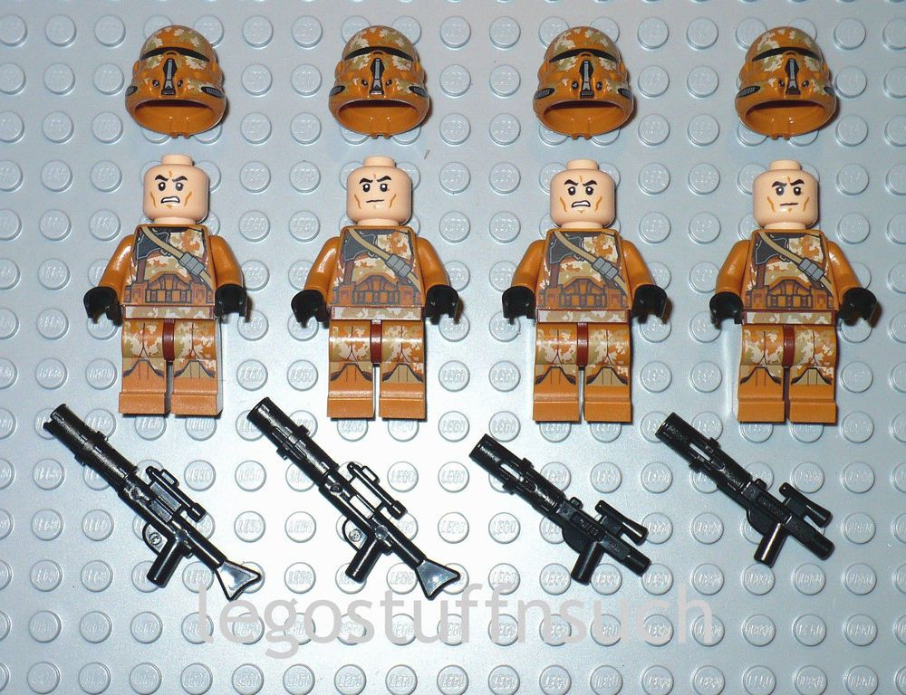 NEW LEGO® Star Wars™ Geonosis Airborne Trooper minifigures HEAVY BLASTER 75089