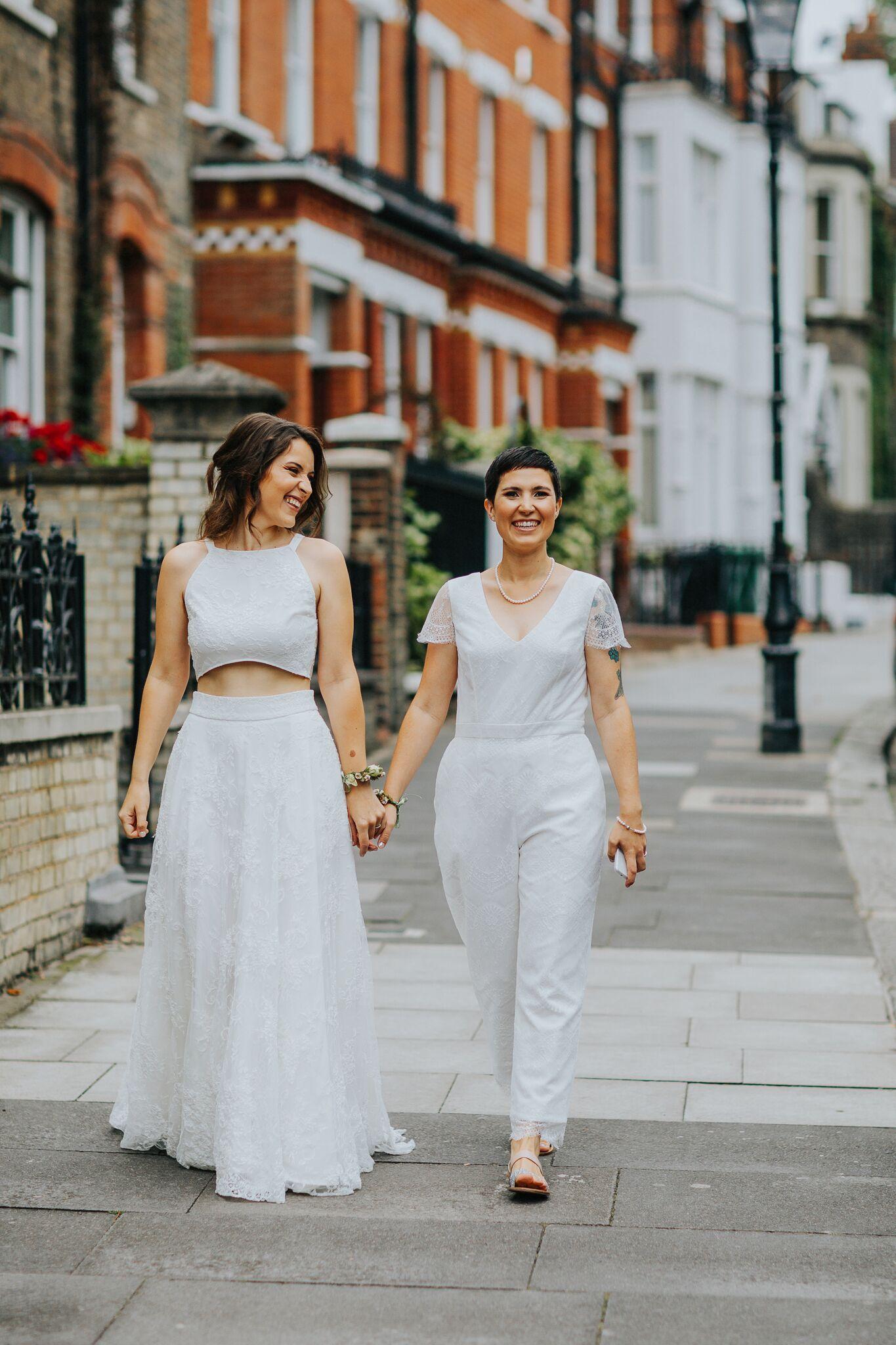 Brides Of Ollichon Emma And Roxy Alternative Wedding Dresses