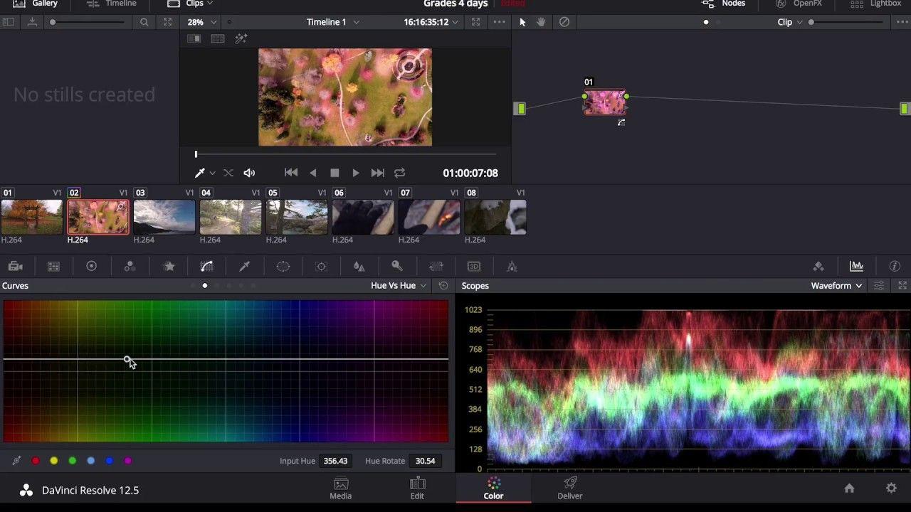 Davinci Resolve Color Grading Walkthrough and Editing