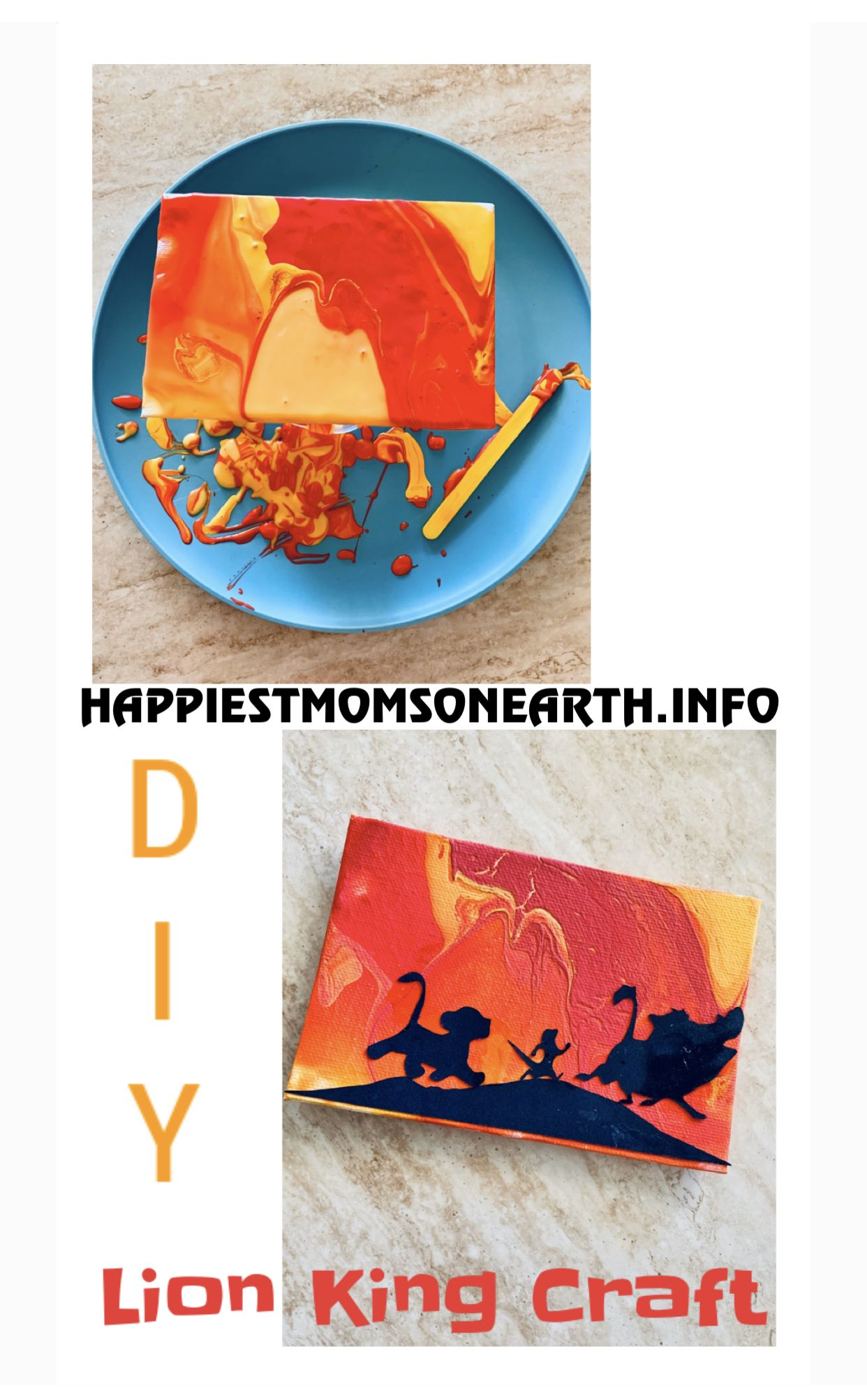 Diy Lion King Craft In 2020 Disney Crafts Lion King Crafts Disney Diy Crafts