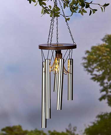 Solar Caged Fairy Light Wind Chimes Solar Fairy Lights Wind Chimes Fairy Lights