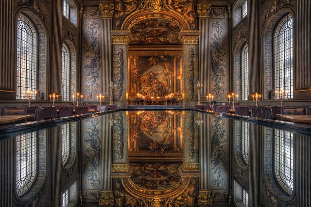The Painted Hall Baroque Architecture Art And Architecture Architecture