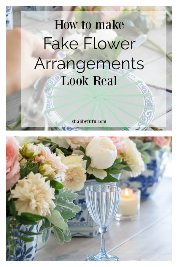 Tips to make fake flowers look real that you need for seaonal floral arrangements, tablescapes and