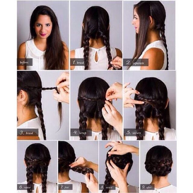 Fold-Over Lace Braid Updo Tutorial (Look Beautiful With