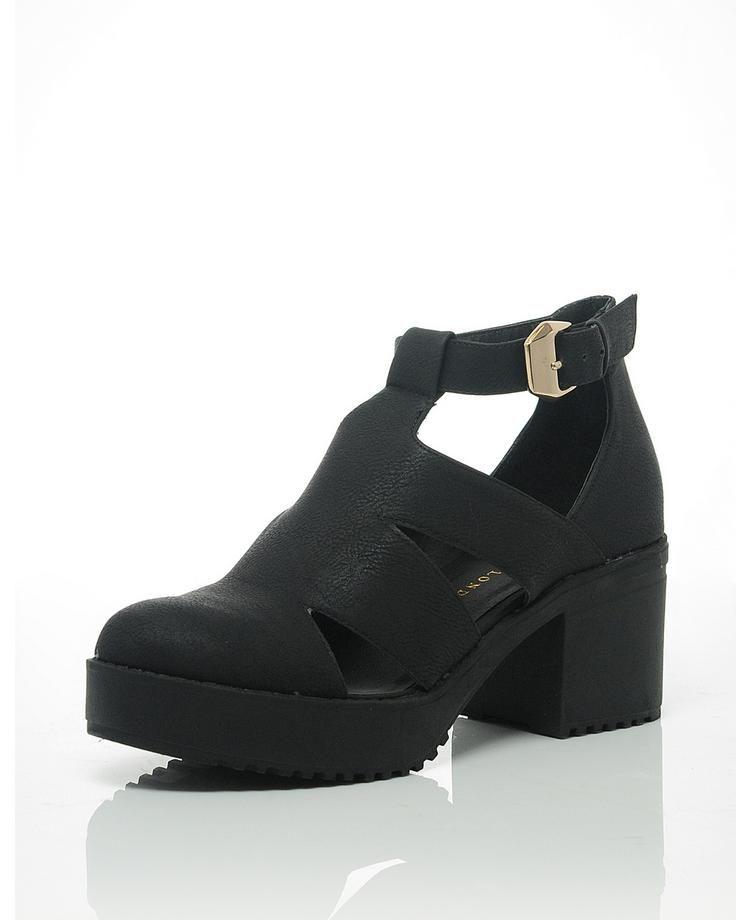 BLONDE & BLONDE Compton Cut Out Heels | BANK Fashion