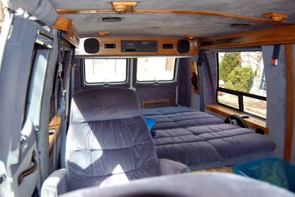 How To Sleep In Your Vehicle Van Interior Chevy Van Custom Van