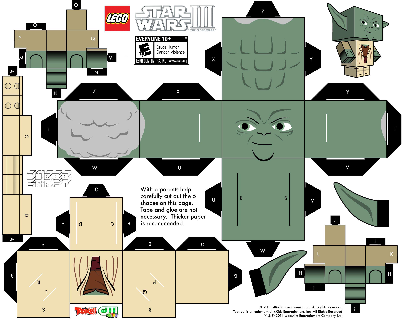paper toys clone wars iii | petit bazar | pinterest | star wars
