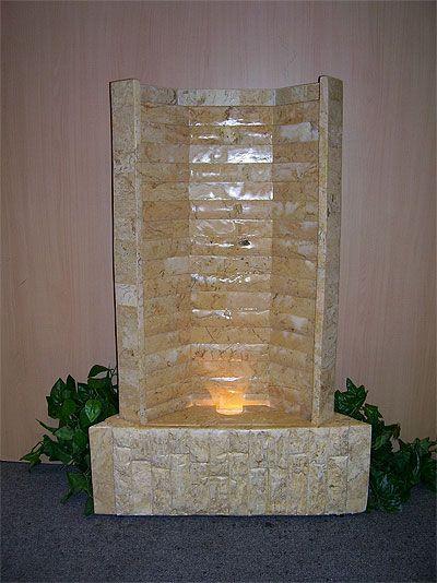 Indoor Water Fountain Design | water body | Pinterest | Indoor water ...