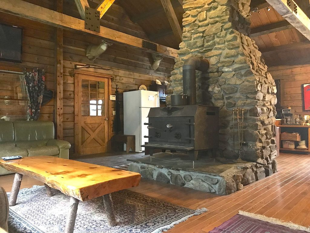 Beautiful Ranch Style Post And Beam Cabin Wonderful Ski And Summer Cabin Close To Everything In The White Mountains Located On The G Post And Beam Beams Cabin
