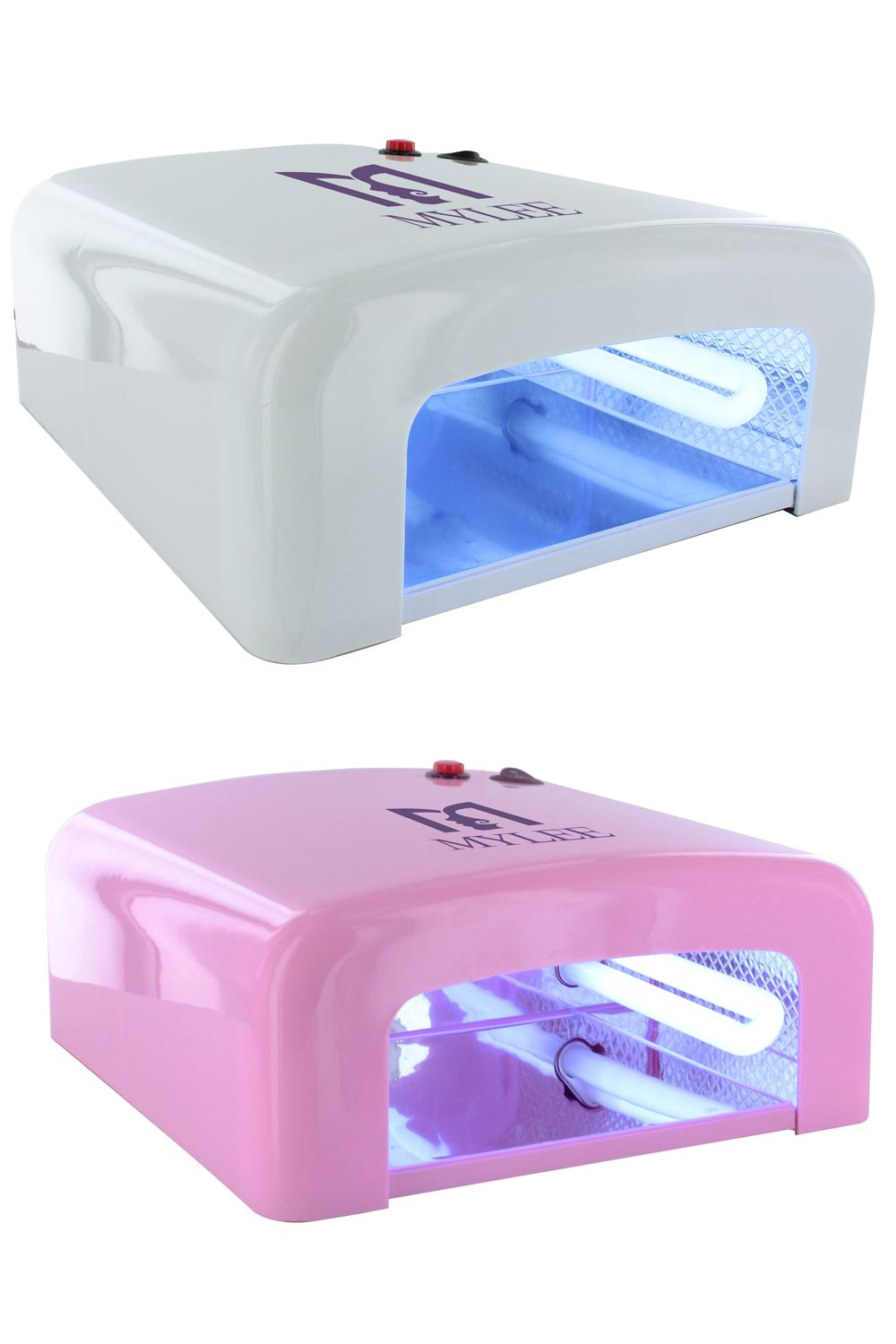 Mylee 36w Gel Polish Curing Uv Lamp Nail Art Shellac Dryer With Timer 4 Bulbs Uv Led Uv Lamp Nails