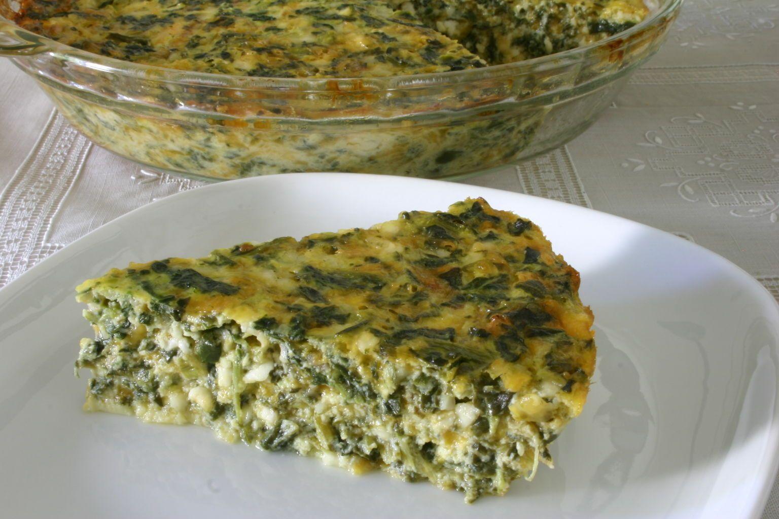 Quick Spinach Quiche Recipe Quiche recipes, Recipes