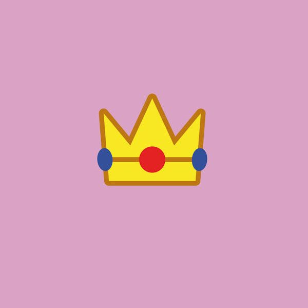 Super Mario Minimalism Peach Mario Nintendo Princess Mario And Princess Peach