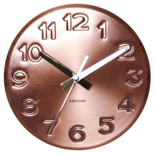 Karlsson Uhren karlsson bold engraved numbers wanduhr jetzt bestellen unter https