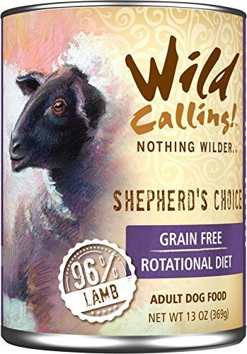 Wild Calling Canned Dog Food - Shepherd's Choice 96% Lamb - 13 oz - 12 ct by Wild Calling! ** You can get more details by clicking on the image. (This is an affiliate link and I receive a commission for the sales)