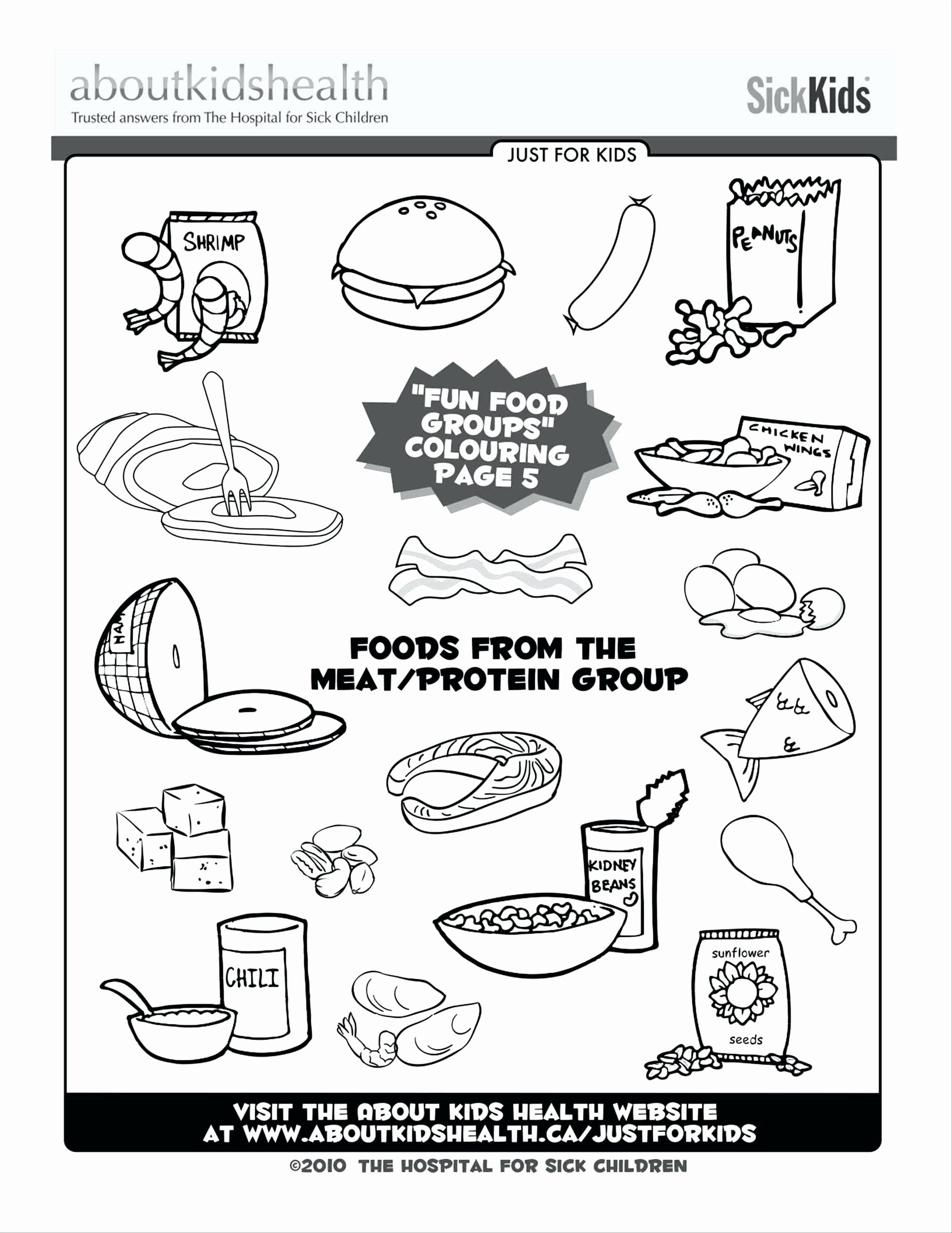 Chicken Nuggets Coloring Page Inspirational Of My Plate Coloring Page Sabadaphnecottage Ingles Ninos Baby Shower Ninos