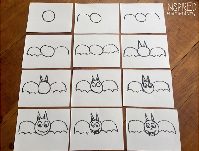 Friendly Bat Directed Drawing With Images Directed Drawing