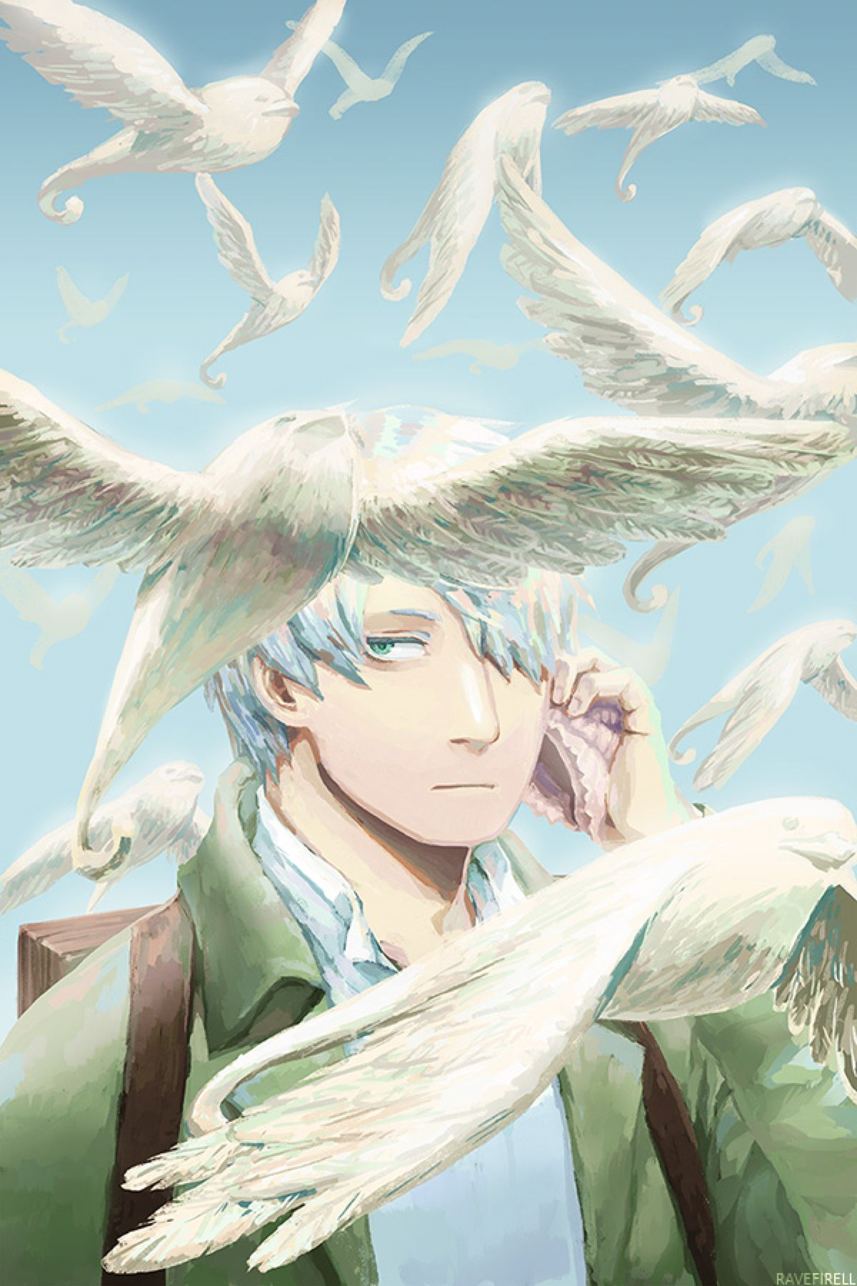 MushiShi by ravefirell on DeviantArt Anime, Art, T art