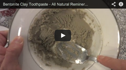 All Natural Bentonite Clay Toothpaste - The Art of Unity
