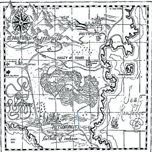 Map from the phantom tollboothi want to print and frame it map from the phantom tollboothi want to print and frame it fandeluxe Gallery