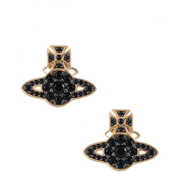 Vivienne Westwood Earrings for Women, Gold, Stainless Steel, 2017, One Size