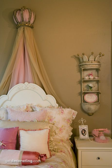 Crown Shelf Girls Room Decor French Country Guest Room Shabby Chic Bedrooms