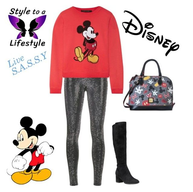 """""""Mickey or Minnie?"""" by drcarmit ❤ liked on Polyvore featuring Cole Haan, Faith Connexion, Marc Jacobs, Dooney & Bourke, Disney, chic, disney, disneybound and styletoalife"""