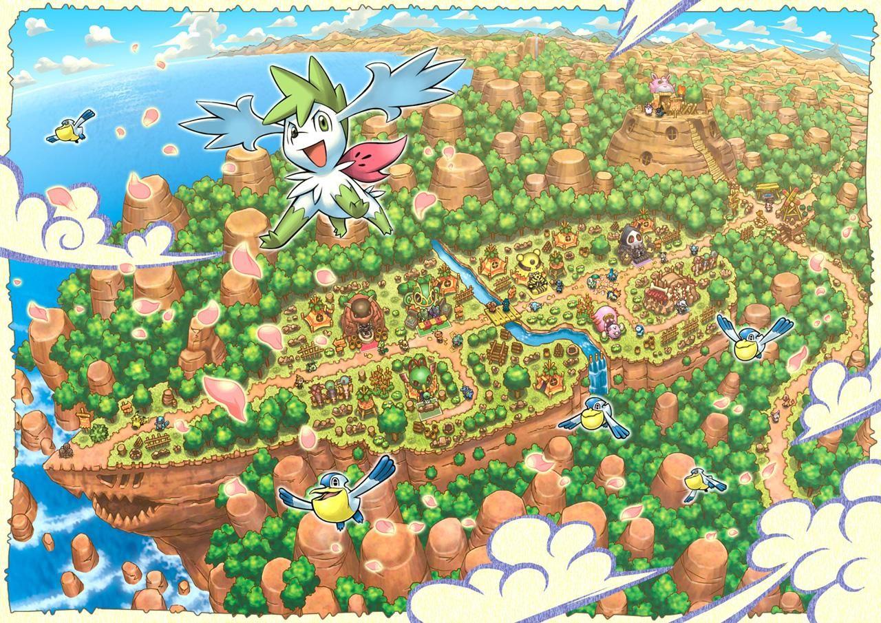 Pmd Wallpaper Pokemon Dungeon Pokemon Project
