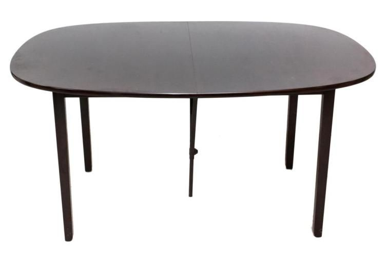 Dining Table W 3 Leaves Danish Modern Dining Table W 3 Leaves
