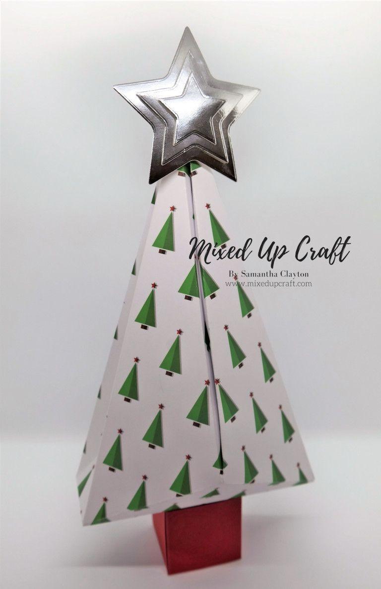 Christmas Tree Shaped Gift Boxes Christmas Gift Box Christmas Tree With Gifts Diy Christmas Paper
