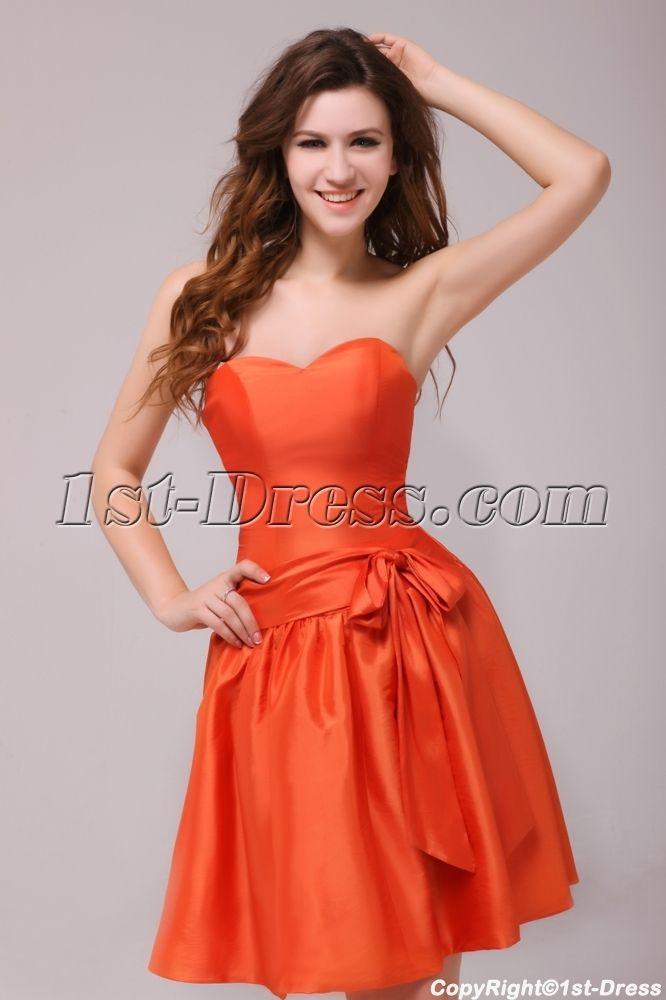 Short Orange Prom Dresses   ... Prom Dresses > Homecoming Dresses ...