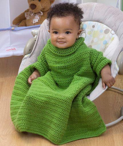Red Heart Baby Snuggle Blanket Free Crochet Pattern   Crochet ...