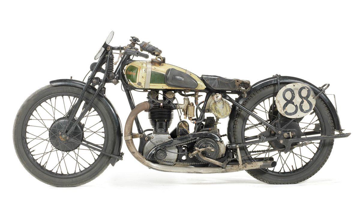 1927 Triumph Works & 1936 Vincent HRD :: Bonhams   cool ...