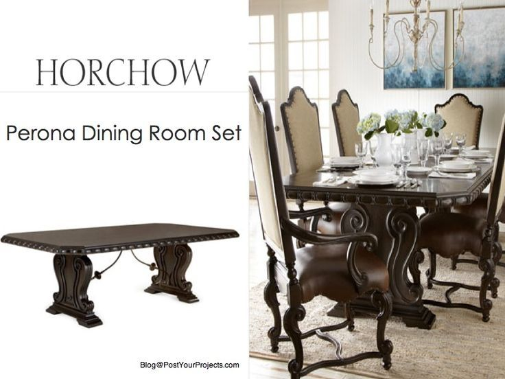 Dallas Ranch Square Pedestal Solid Wood 14 Piece Dining ...